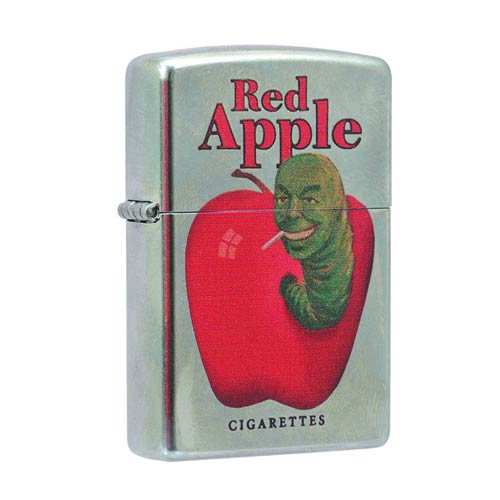 Pulp Fiction Red Apple Zippo Lighter