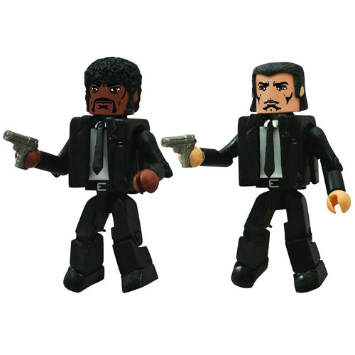 Pulp Fiction Jules and Vincent Minimates 2-Pack