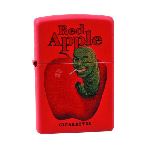 Pulp Fiction Red Apple Red Variant Zippo Lighter