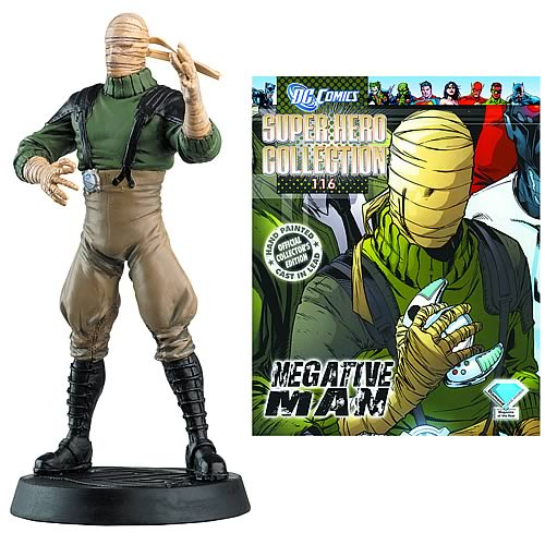 DC Superhero Negative Man Collector Magazine and Figure