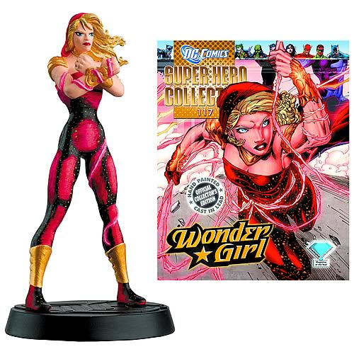 DC Superhero Wonder Girl Collector Magazine and Figure