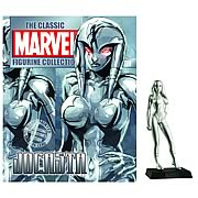 Marvel Figurine Collector Magazine with Jocasta Figure