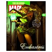 Marvel Figurine Collector Magazine with Enchantress Figure