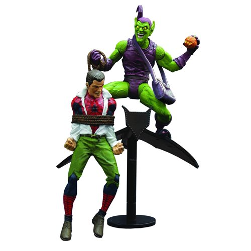 Marvel Select Classic Green Goblin vs. Spider Man Figures