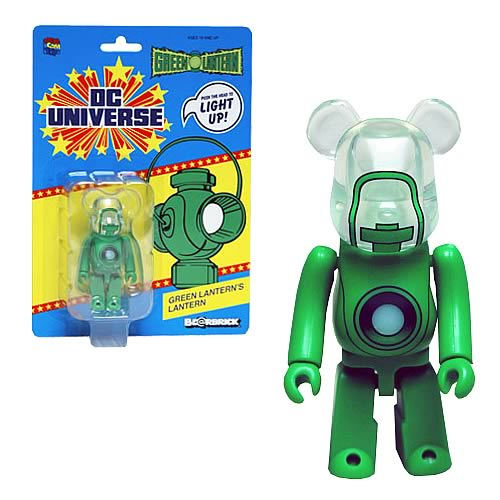 Green Lantern Movie Light-Up Bearbrick SDCC 2011 Exclusive