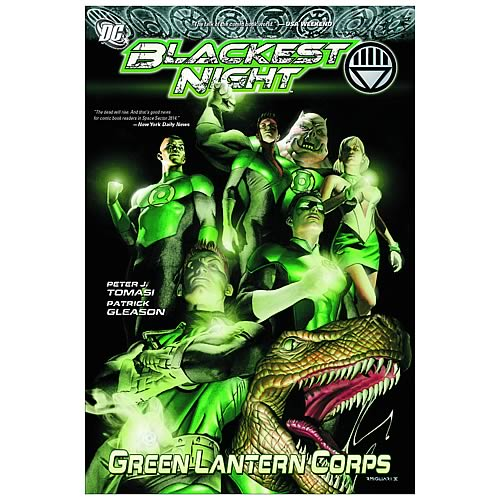 Blackest Night Green Lantern Corps Graphic Novel