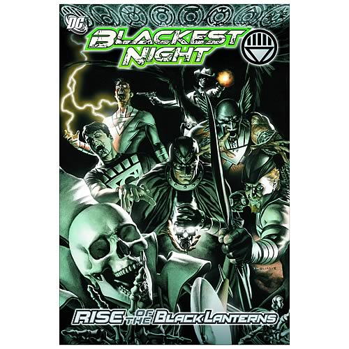 Blackest Night Rise Of The Black Lanterns Graphic Novel