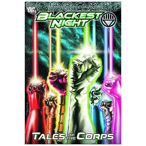 Blackest Night Tales Of The Corps Graphic Novel