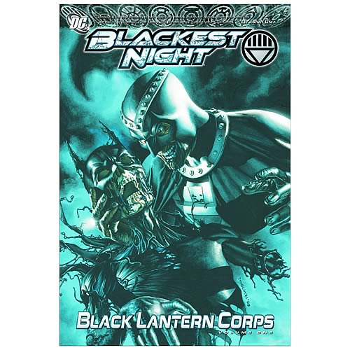 Blackest Night Black Lantern Corps Graphic Novel Volume #1
