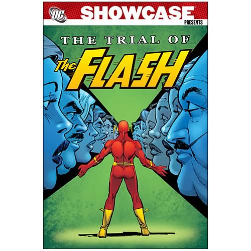 Showcase Presents Trial Of The Flash Graphic Novel