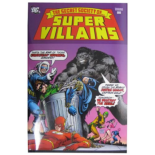 Secret Society Of Super Villains Hardcover Graphic Novel