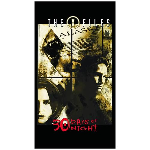 X-Files 30 Days Of Night Graphic Novel