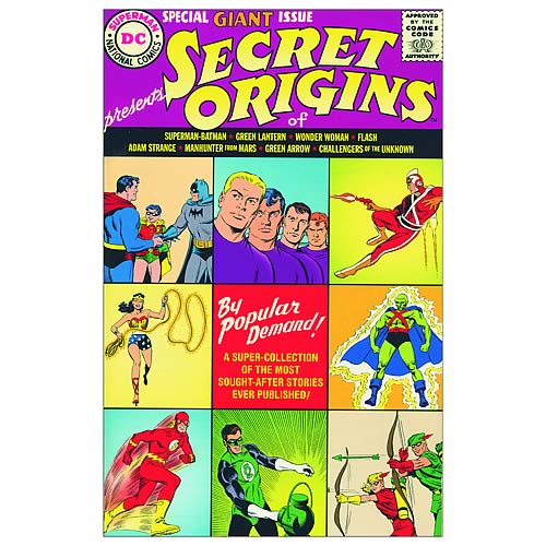 DC Universe Secret Origins Graphic Novel