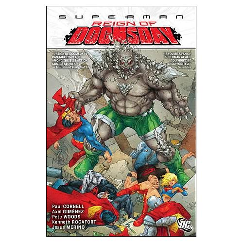 Superman Reign of Doomsday Graphic Novel