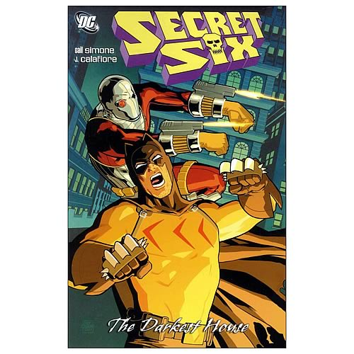 Secret Six The Darkest House Graphic Novel