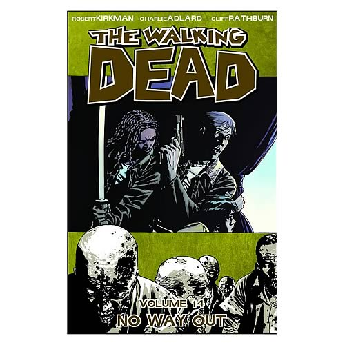 Walking Dead Graphic Novel No Way Out Volume #14