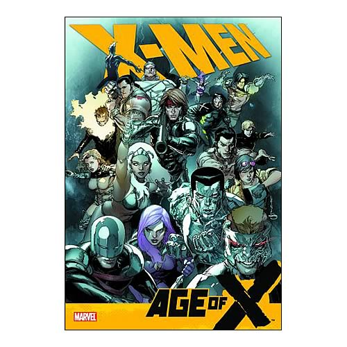 X-Men Age Of X Hardcover Graphic Novel