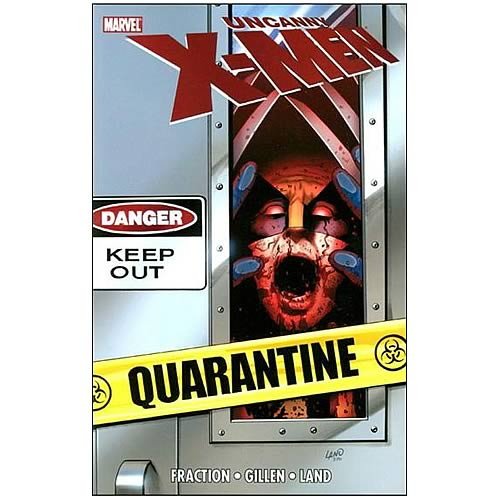 Uncanny X-Men Quarantine Graphic Novel