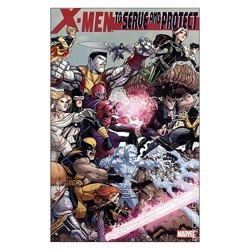 X-Men To Serve And Protect Graphic Novel