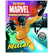 Marvel Hellcat Figure and Collection Magazine
