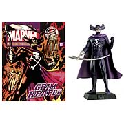 Marvel Grim Reaper Collector Magazine with Figure