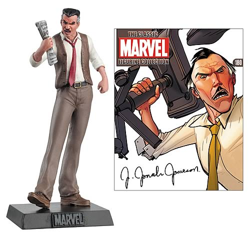 Spider-Man Jonah Jameson Collector Magazine with Figure