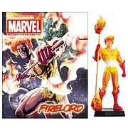 Marvel Comics Firelord Collector Magazine with Figure