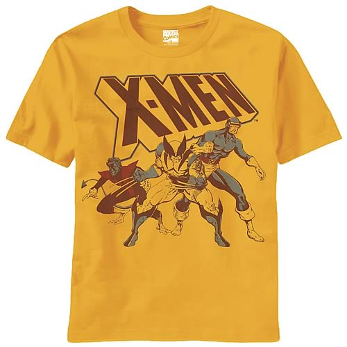 X-Men Don't Trouble Us Gold T-Shirt