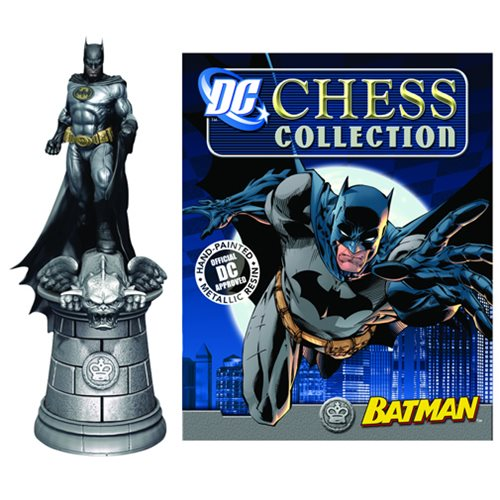 DC Superhero Batman King Chess Piece with Collector Magazine