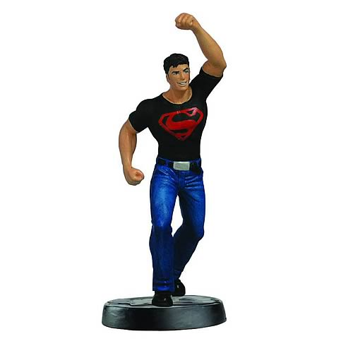 DC Superhero Superboy Collector Magazine with Figure