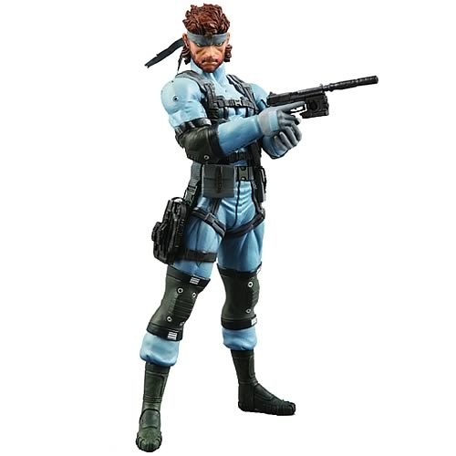 Metal Gear Solid 2 Snake Action Figure