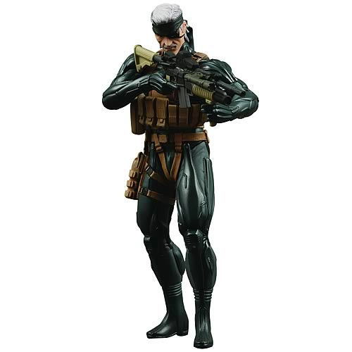 Metal Gear Solid 4 Snake Action Figure