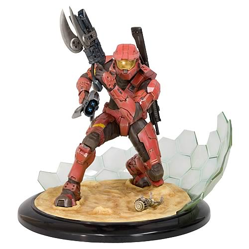 Halo 3 Red Spartan Version 2 Artfx Statue