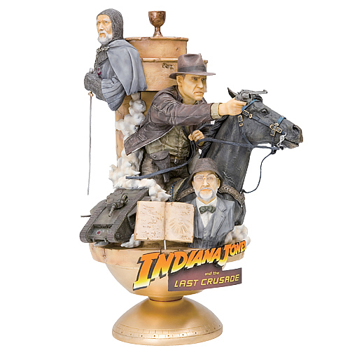 Indiana Jones Last Crusade ArtFx Theatre Statue