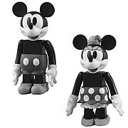 Mickey Mouse and  Minnie Mouse Kubrick 2-Pack
