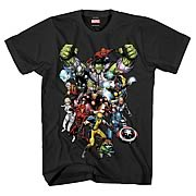 Marvel Heroes Marvel Now Black T-Shirt