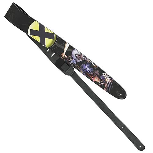 X-Men Leather Guitar Strap
