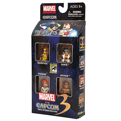 Marvel vs. Capcom Minimates Box Set SDCC 2011 Exclusive