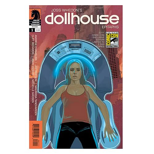 Dollhouse Epitaths #1 SDCC 2011 Exclusive