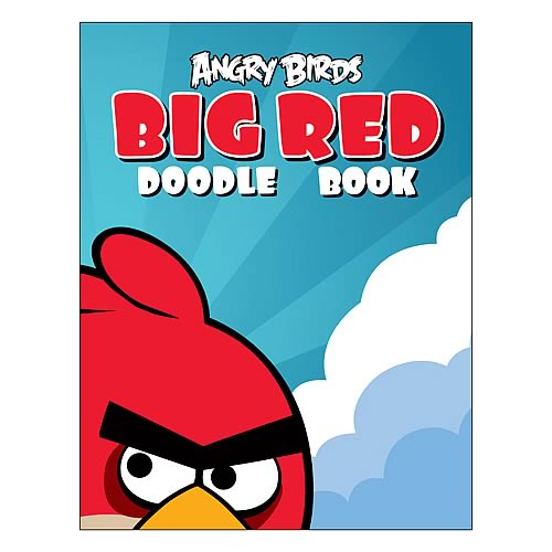 Angry Birds Big Red Doodle Book