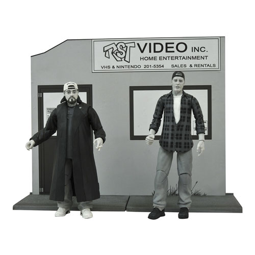 Clerks Black and White Series 2 Action Figure Set