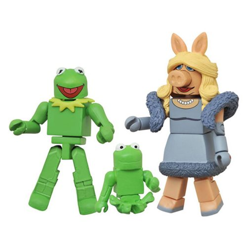 Muppets Minimates Series 1 Kermit and Miss Piggy 2-Pack