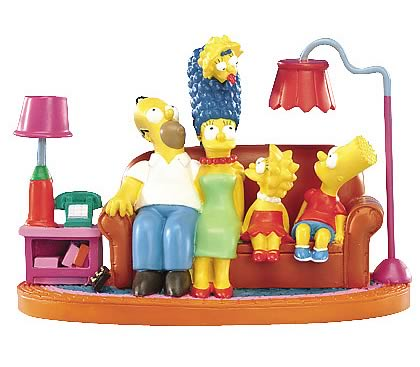 Simpsons: Couch Classic Mini Statue