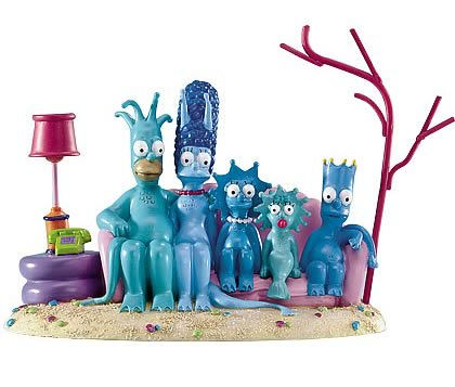 Simpsons: Couch Undersea Mini Statue