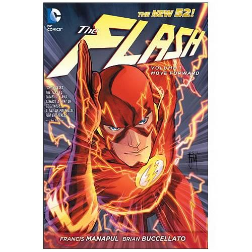 Flash New 52 Volume 1 Hardcover Graphic Novel