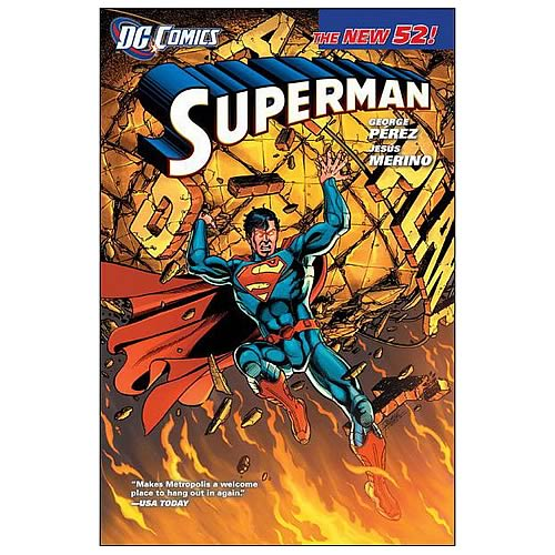 Superman New 52 Hardcover Graphic Novel