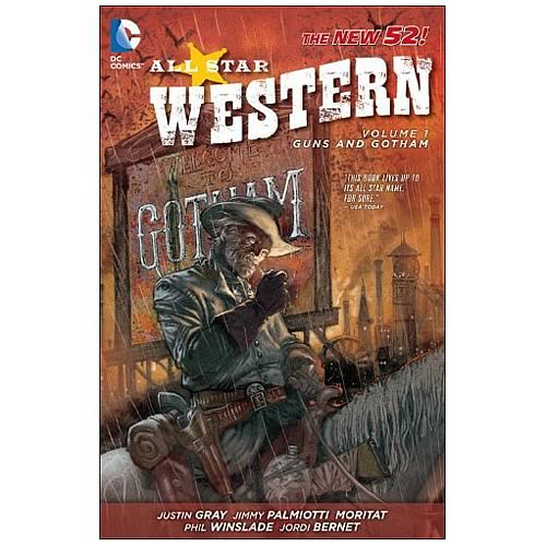 Jonah Hex All Star Western New 52 Volume 1 Graphic Novel