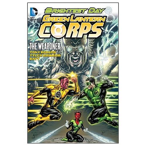 Green Lantern Corps The Weaponer Graphic Novel