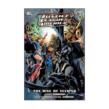 Justice League of America Rise of Eclipso Graphic Novel