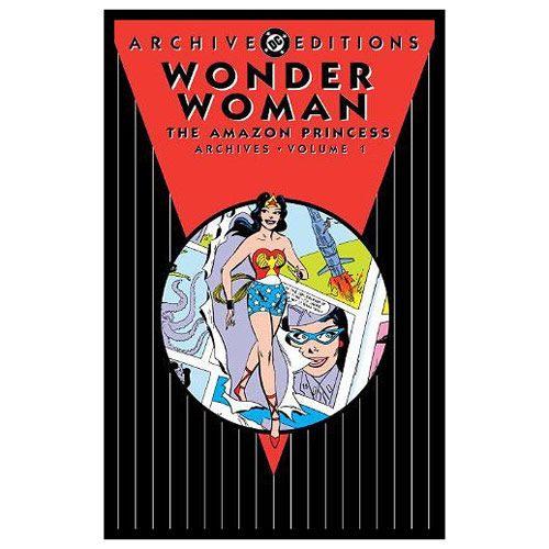 Wonder Woman Amazon Princess Archives HC Graphic Novel